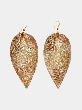 Zia Earrings in Gold