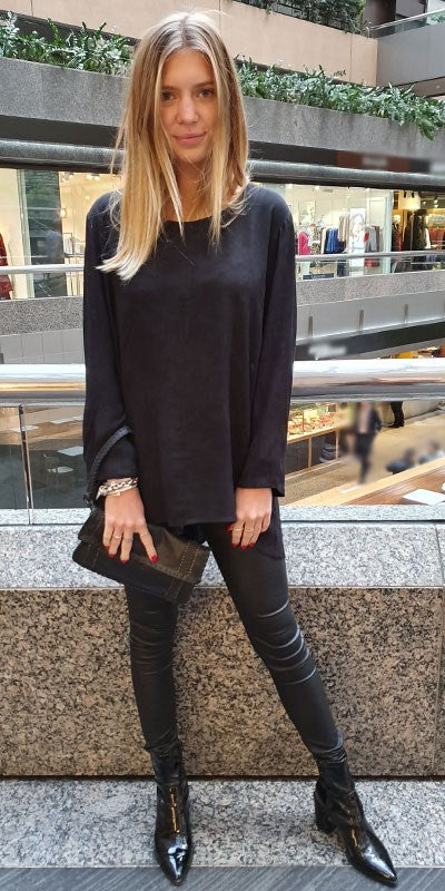 Mia Long Sleeve Tunic By Origen - Origen Imports
