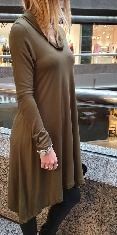 Turtle Neck Dress By Origen - Origen Imports