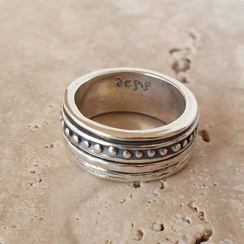 Yaheli Ring By Dervish