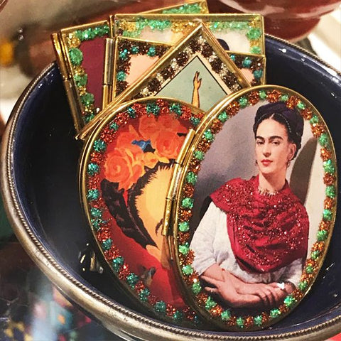 Mexican Frida Compact Mirror