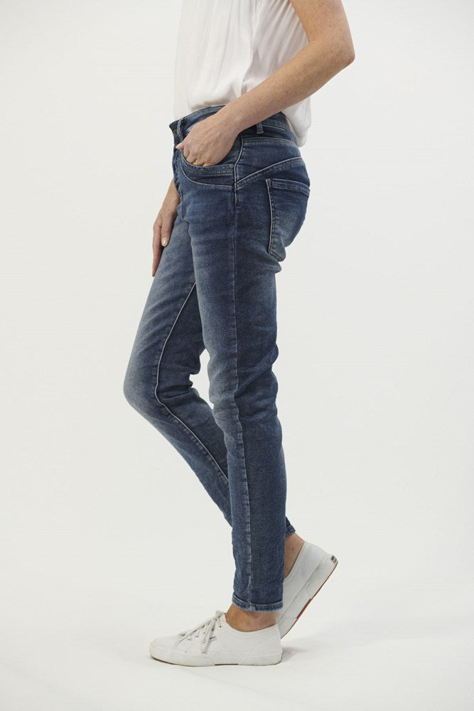 Pocket Detail Jeans By Italian Star