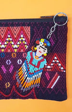 Guatemalan Beaded Frida Key Ring