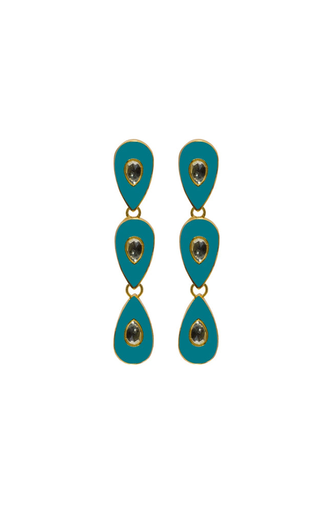 Havana Nights Earrings By Royal Hamam