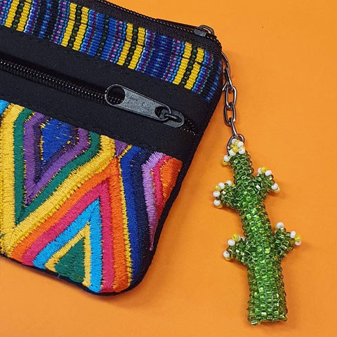 Hand Beaded Key Ring By Origen