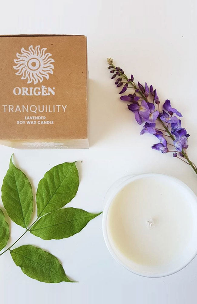 Tranquility Soy Candle By Origen