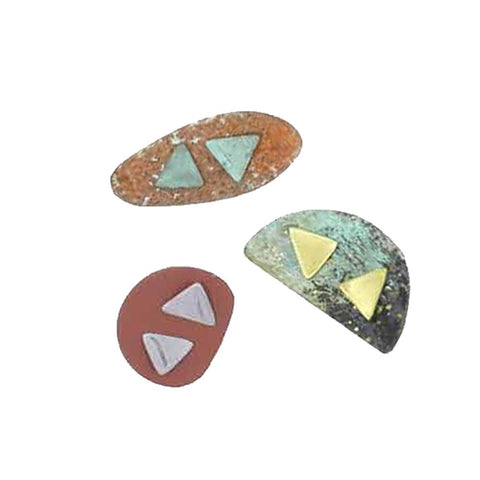 Triangle Post Earrings By Sibilia