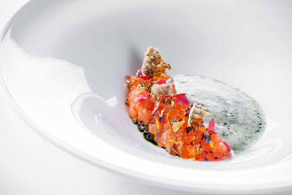 Norbert Niederkofler of two-Michelin-starred St. Hubertus at Rosa Alpina Hotel | May 11 Lunch