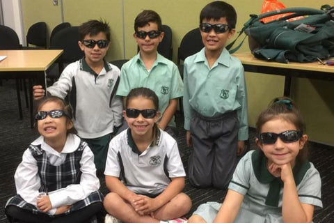 sunglasses at school - why isn't it normal yet?
