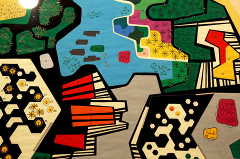 A detail of Roberto Burle Marx's design for the garden of the Ministry of the Army in Brasília from the early 1970s. Burle Marx Landscape Design Studio, Rio de Janiero. Hiroko Masuik//The New York Times