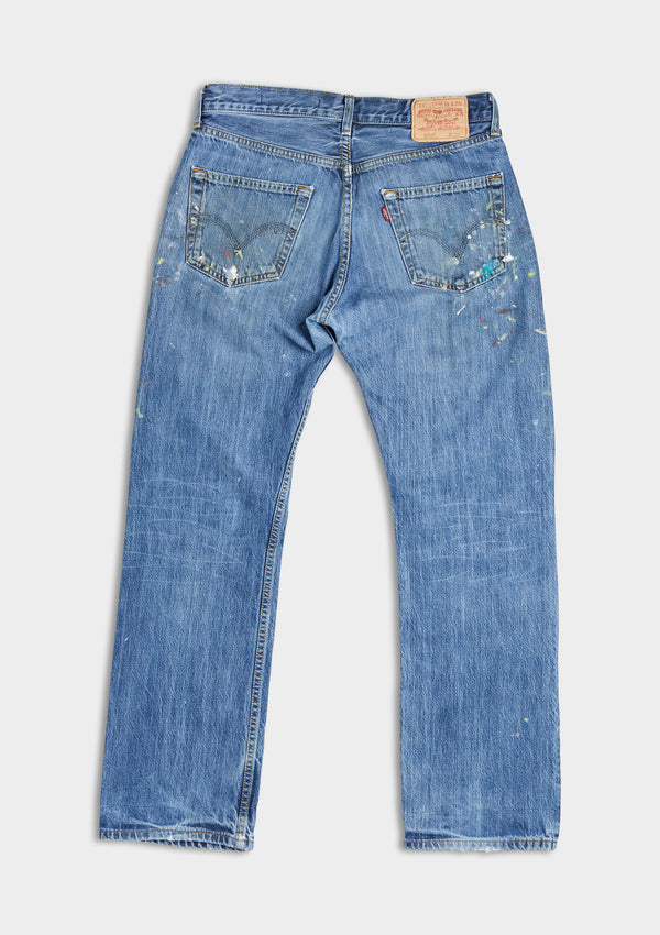 Paint Splatter Denim