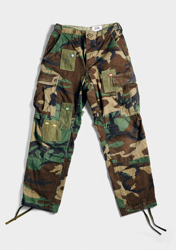 The Little Green Camo Cargo Pant