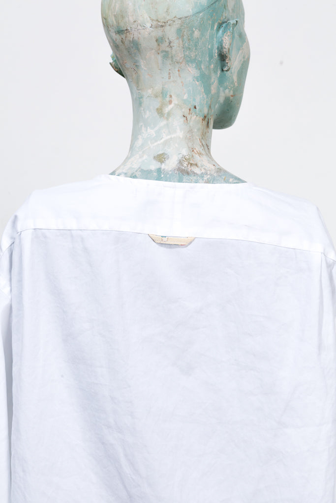 Silk White Shirt I - L