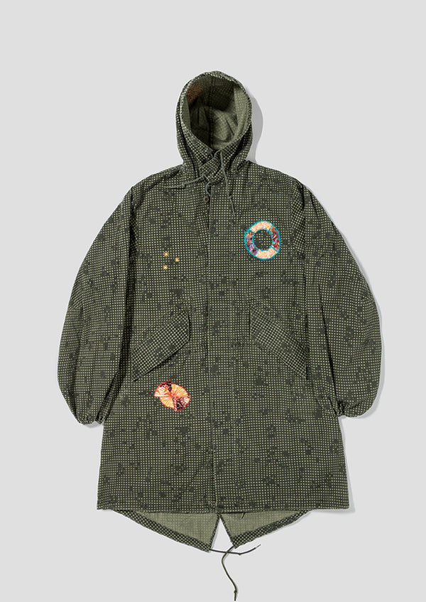 Digital Fishtail Parka