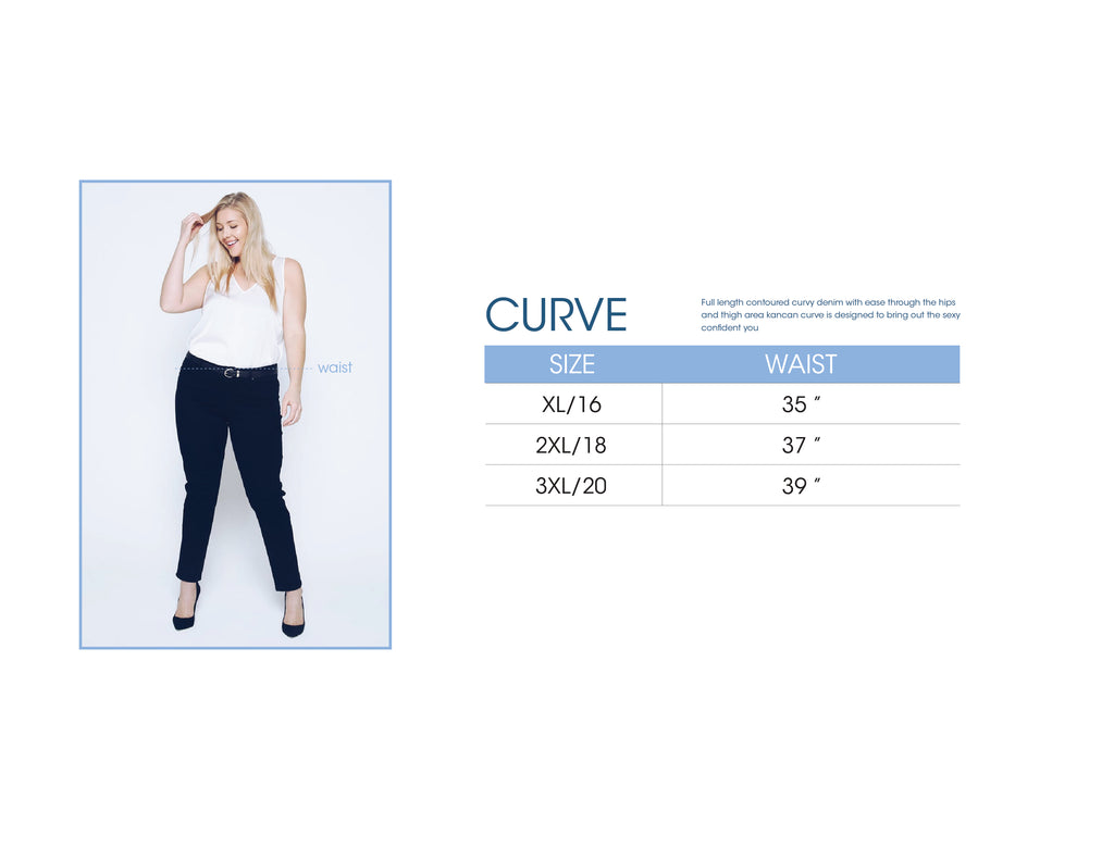 Denim Size Guide Official Kancan Usa