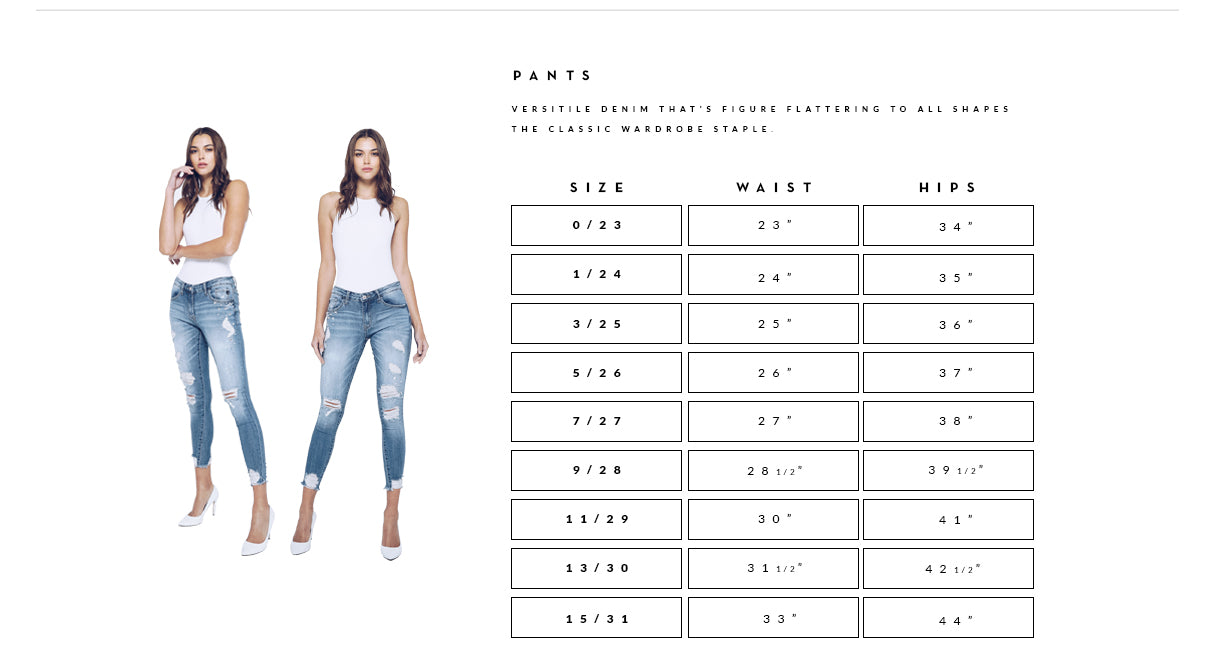 Is a womens pant size 30 is equal to a size 6?