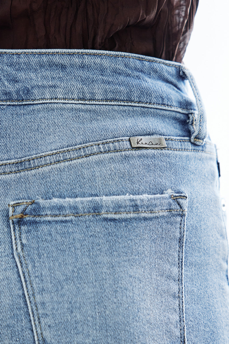 Gaviel Mid Rise Distressed Shorts - Official Kancan USA