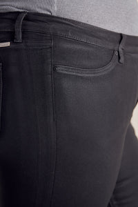 Teresa Ultra High Rise Coated Super Skinny Jeans - Plus - Official Kancan USA