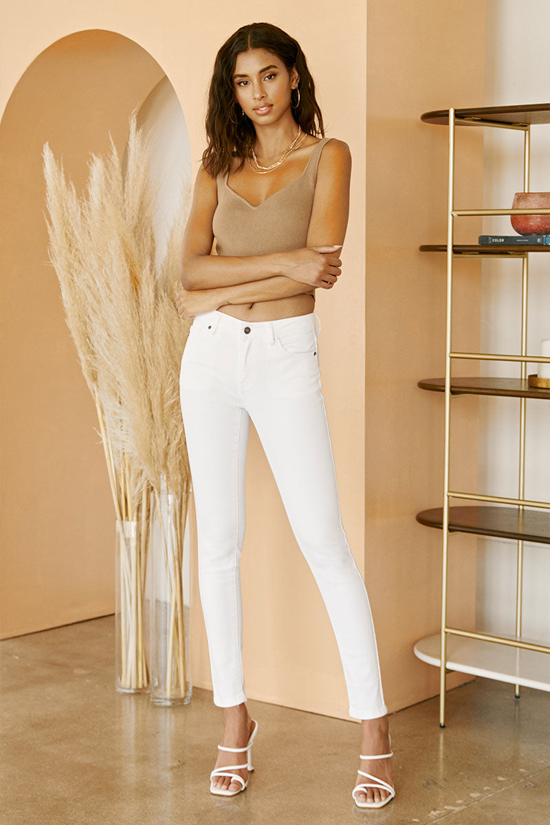 GEMMA MID RISE SUPER SKINNY - Official Kancan USA
