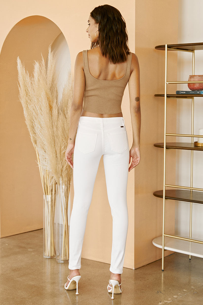 Custo Mid Rise Super Skinny - Official Kancan USA