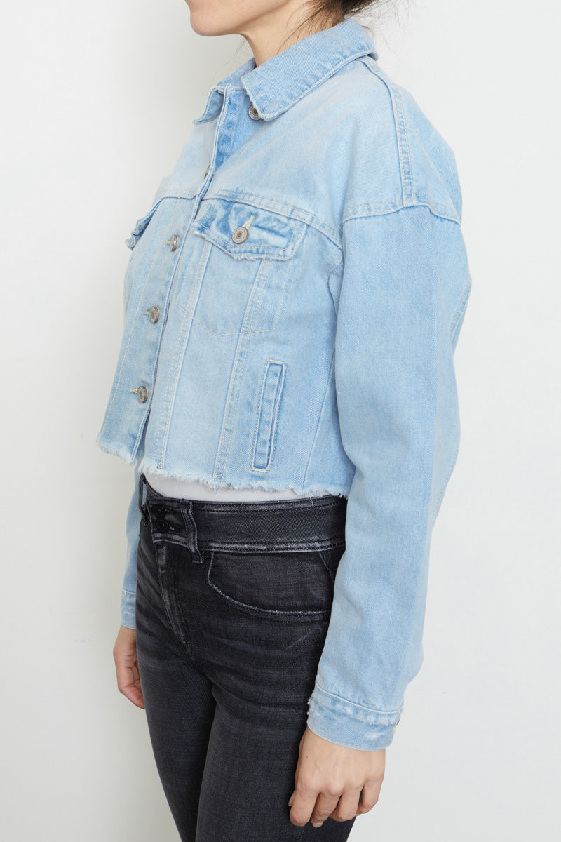 Kase Cropped Jacket - Official Kancan USA