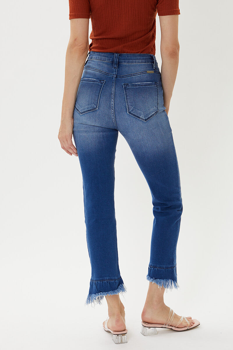 Evelyn Ultra High Rise Skinny Straight - Official Kancan USA
