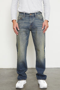 Stephen Medium Wash Slim Straight - Official Kancan USA