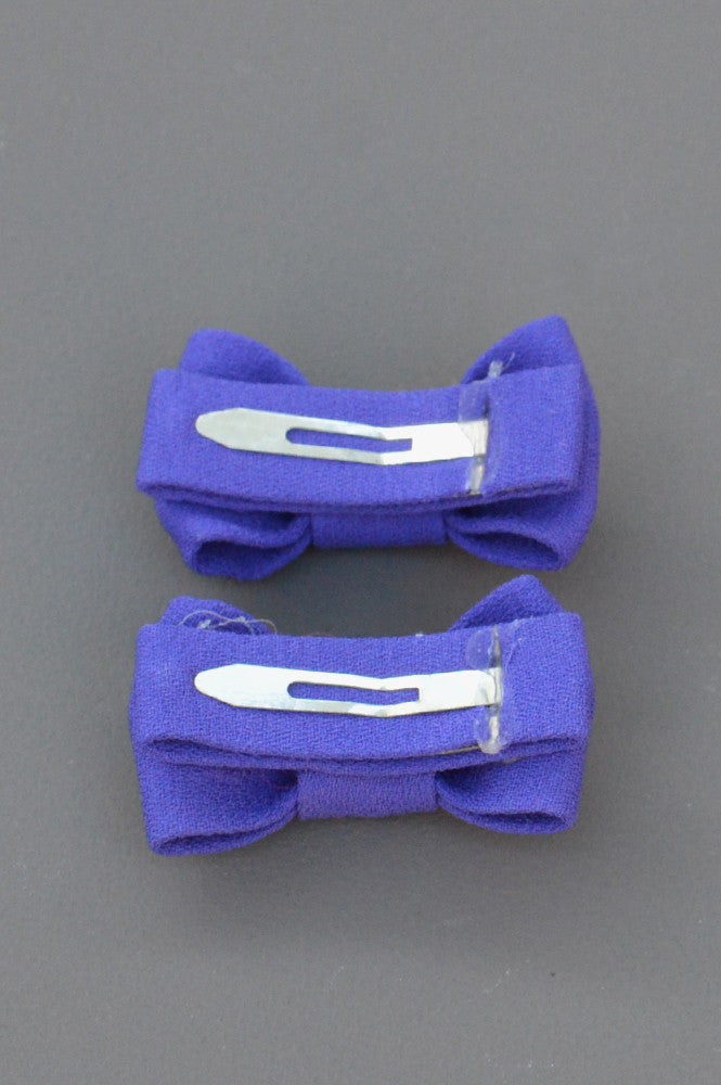 TWIN BOW SNAP PURPLE