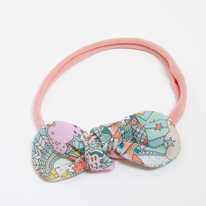 ANNA BABY ELASTIC LARGE BOW - LAND OF DREAMS