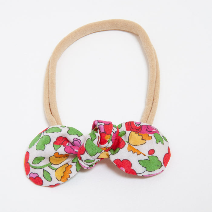 ANNA BABY ELASTIC LARGE BOW - RED BETSY