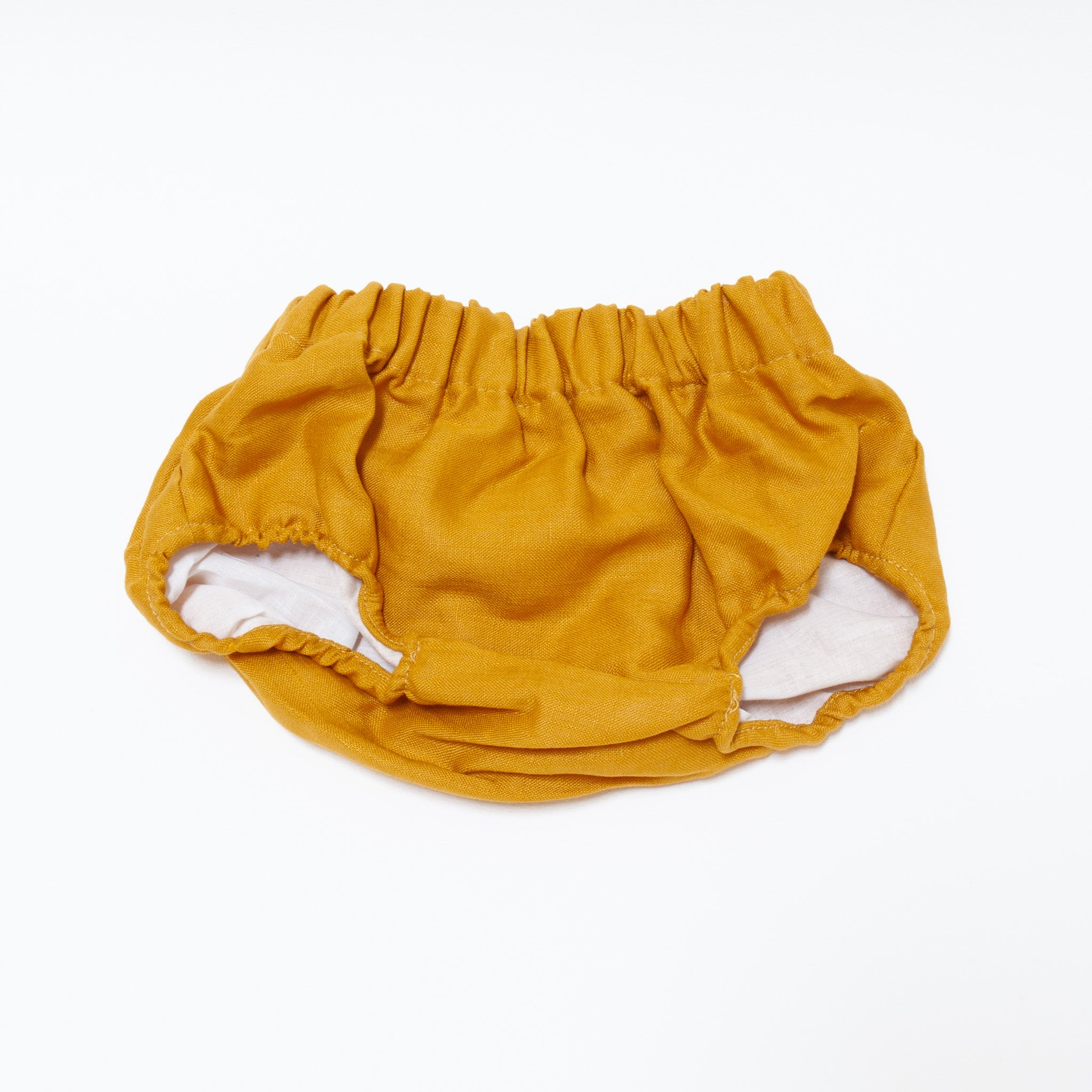 Bailey Bloomer Mustard Linen