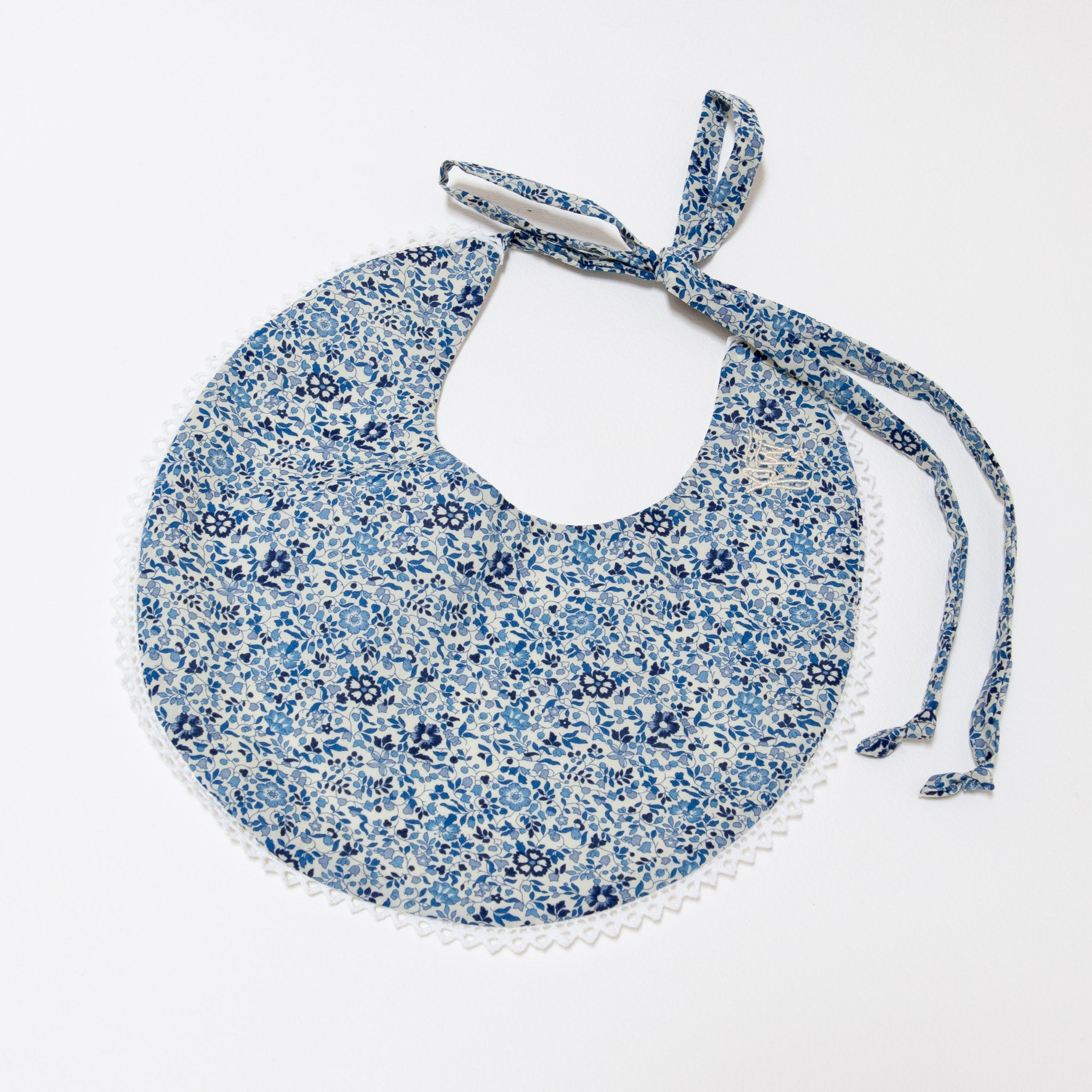 Chloe Bib Blueberry