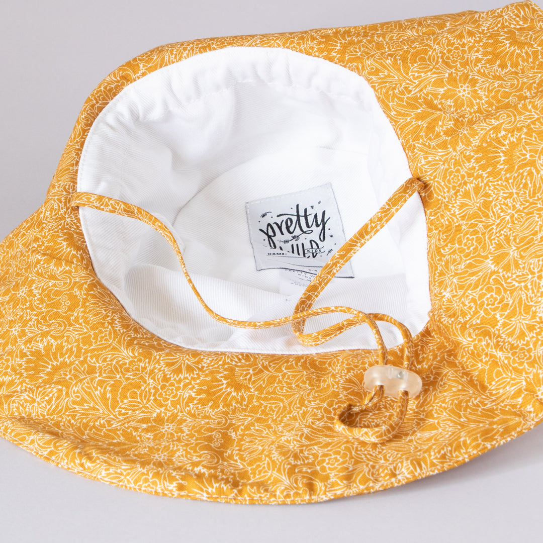 Charlie Bucket Hat Liberty Caramel Floral