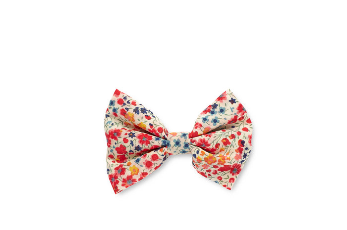 GEORGIE SINGLE BOW CLIP - PHOEBE FLOWERS