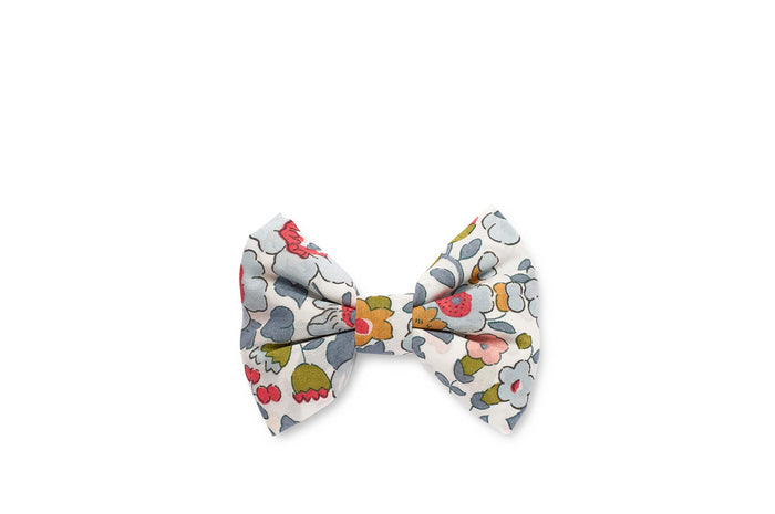GEORGIE SINGLE BOW CLIP LIBERTY - POWDER BLUE
