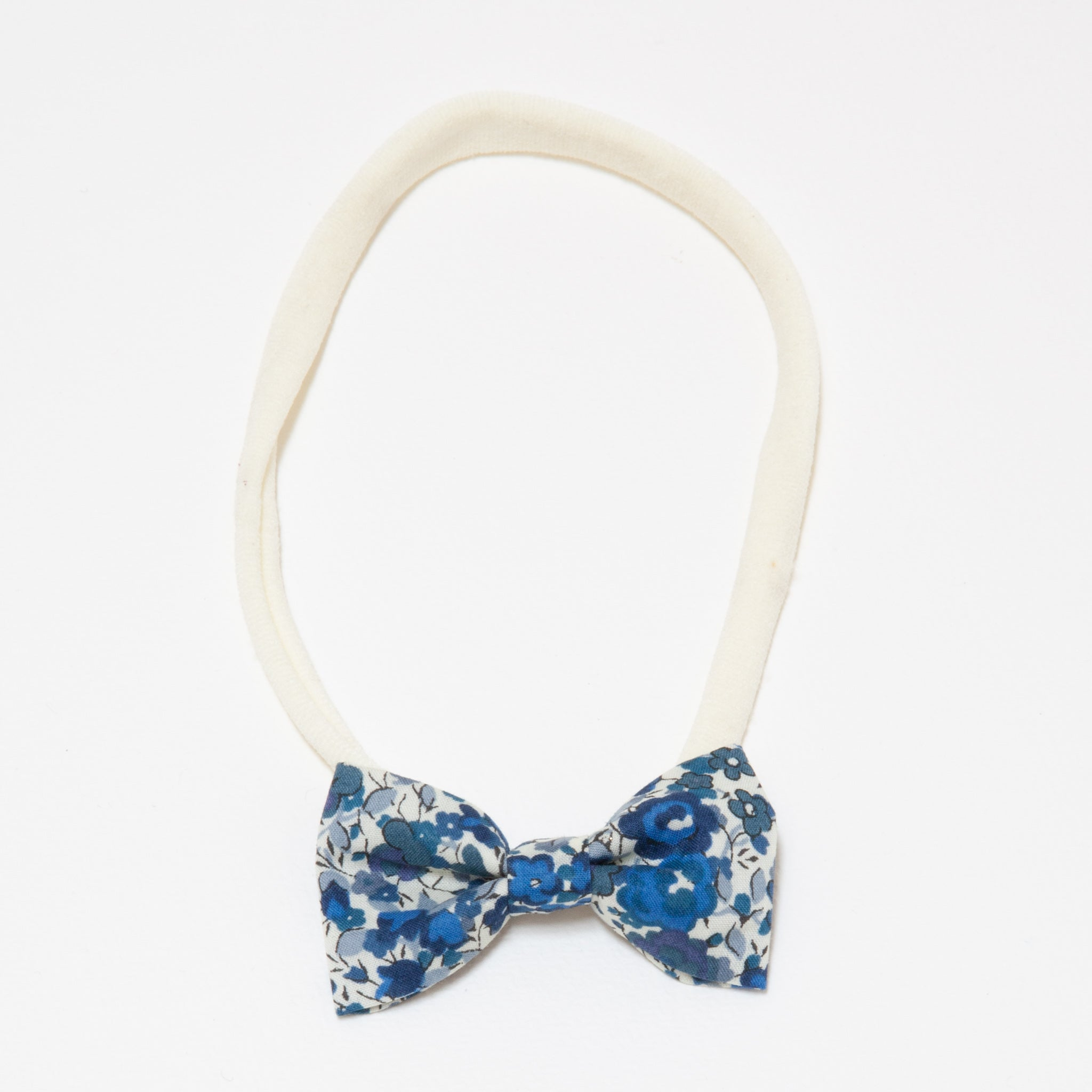 Minnie Headband Dark Blue Floral