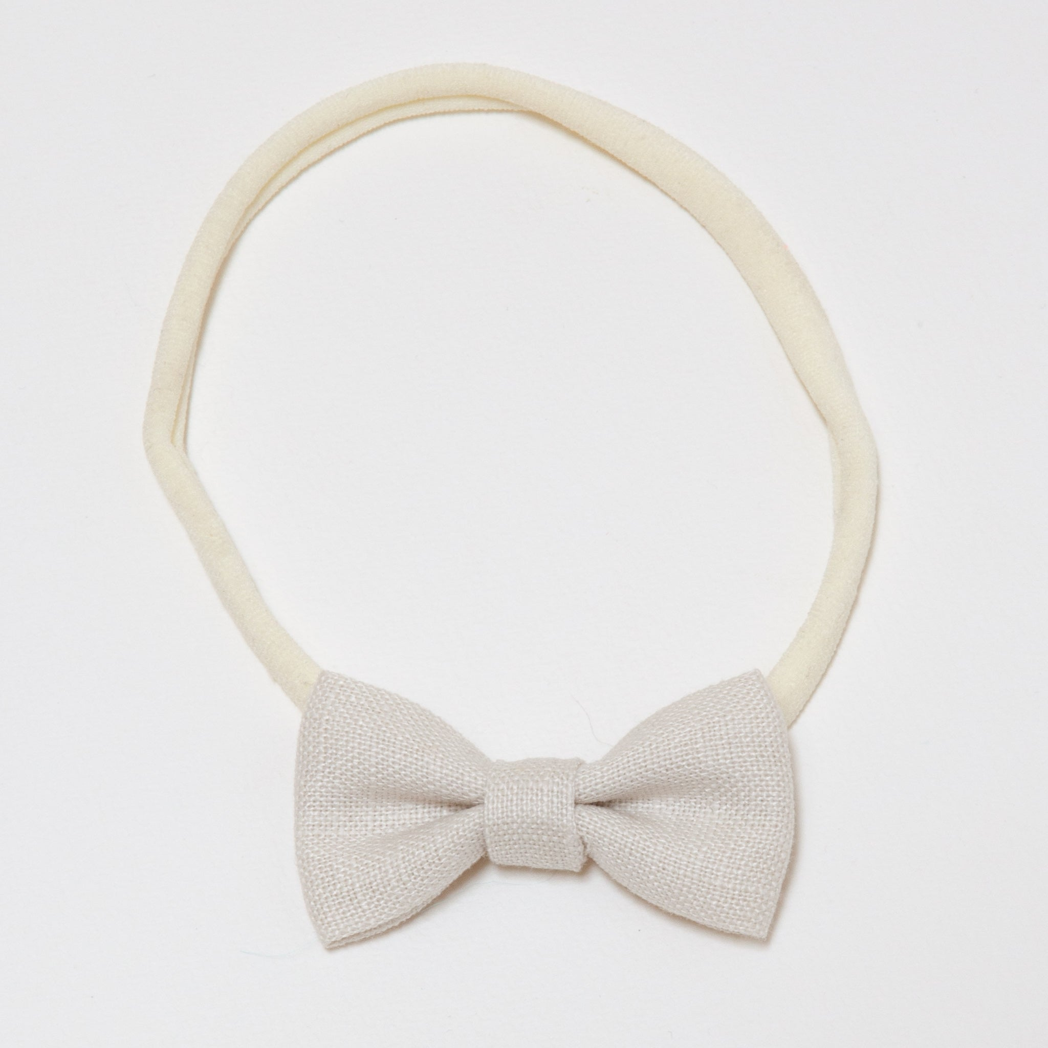 Minnie Headband Natural Linen