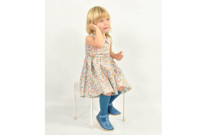 Pretty wild kids, Maria dress, Powder Blue
