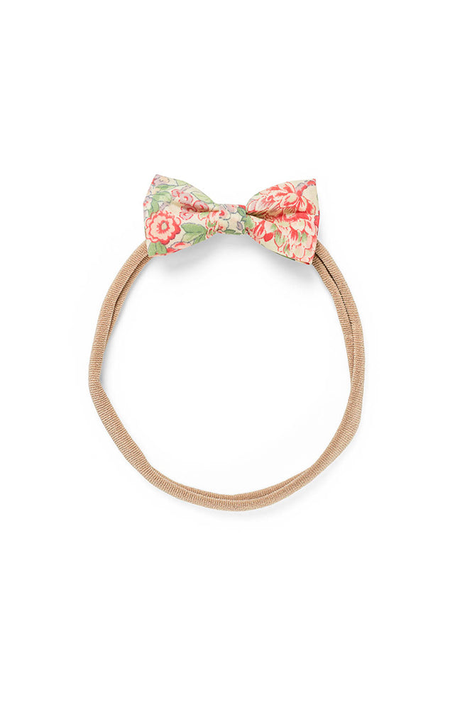 MINNIE BABY BOW ELASTIC, CABBAGE ROSE