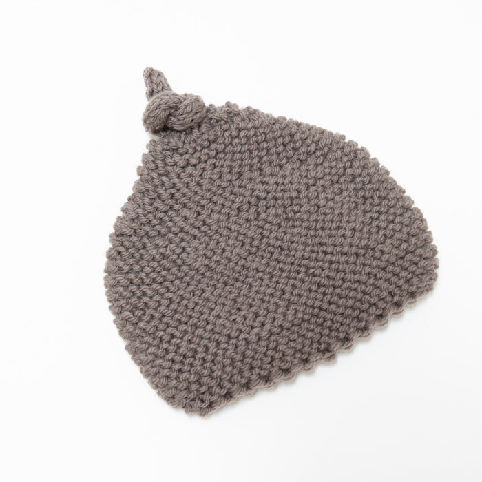 Knitted by Nana Beanie Mocha