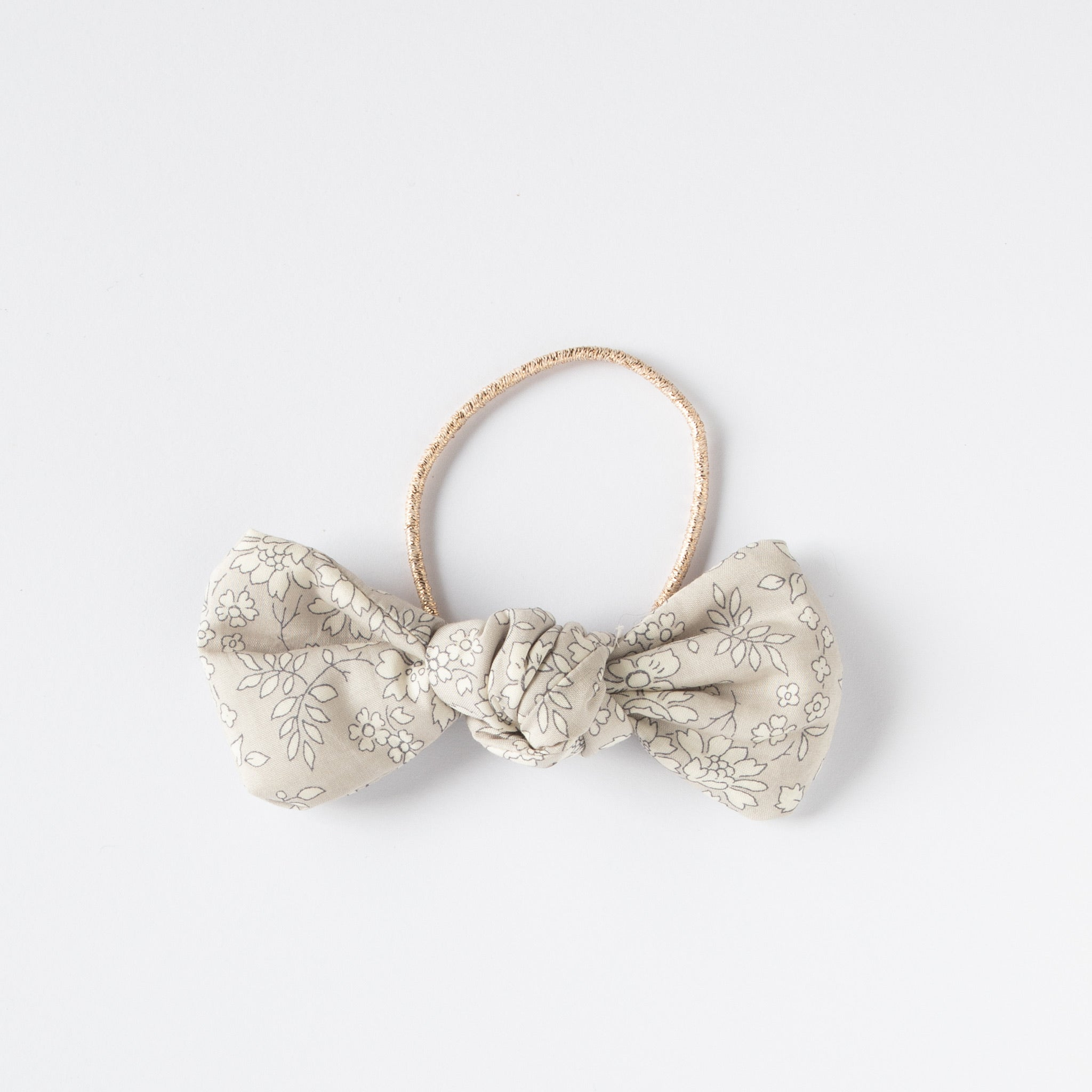 Barbara Hair Tie Liberty Silver Belle
