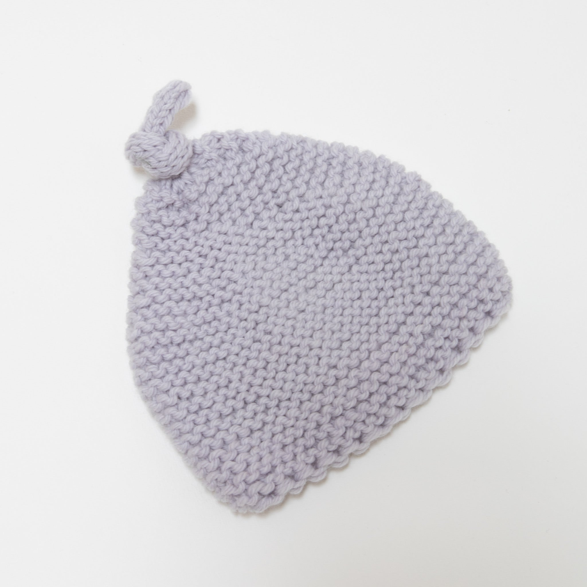 Knitted by Nana Beanie Ghost