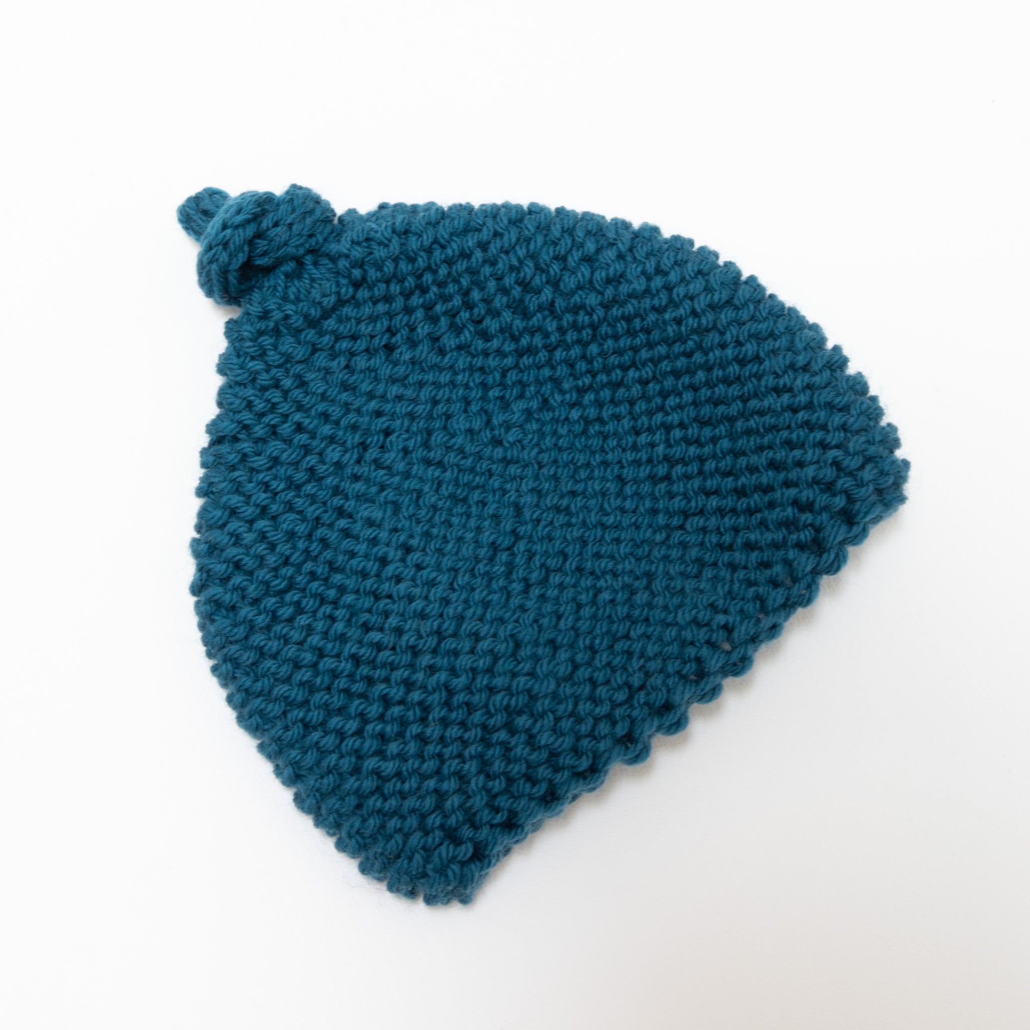 Knitted By Nana Beanie Coastal Blue