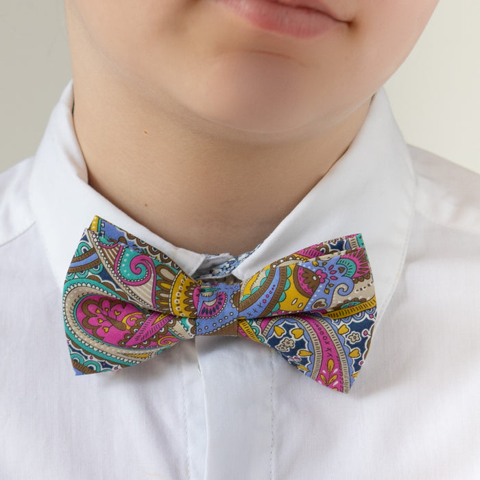 Lucas Bow Tie Liberty Paisley