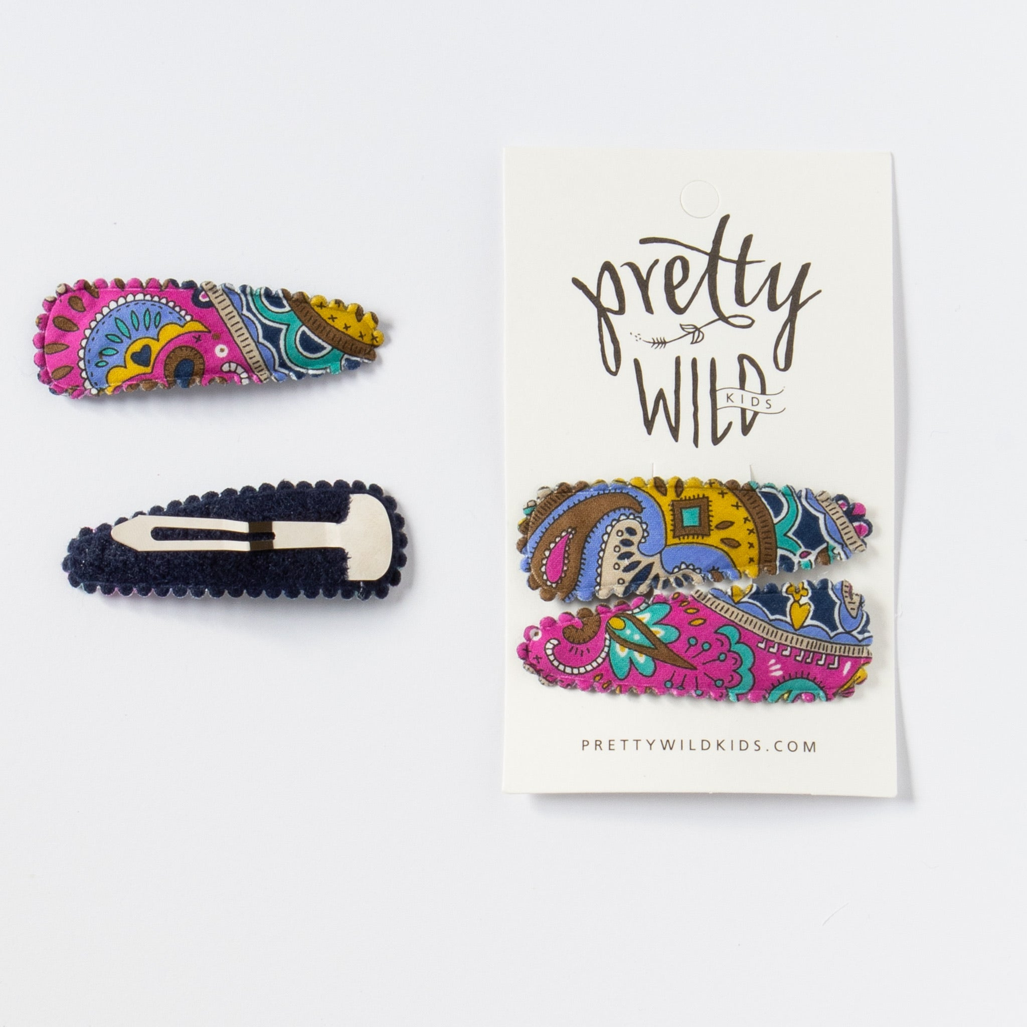 Polly Twin Snaps Liberty Paisley