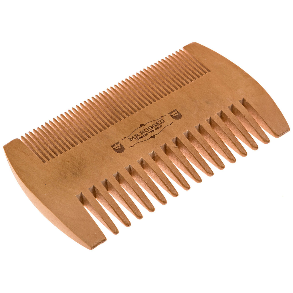 Mr Rugged Pocket Beard Comb