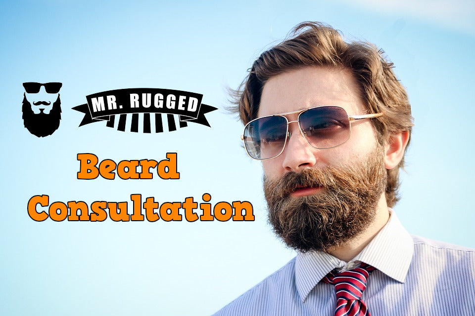 Consultation on Beard Growth and Beard Styling and Grooming Service