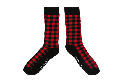 Mosaic Red - EOBO,  - socks
