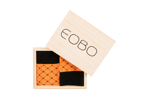 YTB Orange - EOBO,  - socks