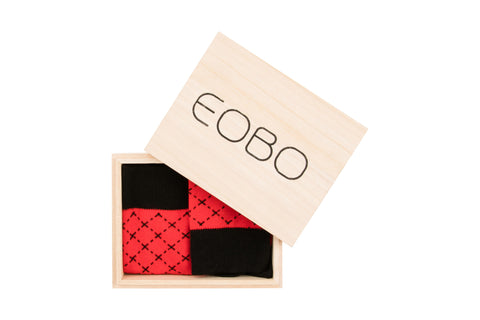 YTB Red - EOBO,  - socks